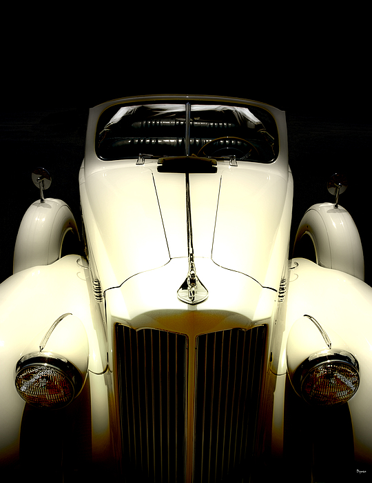 Cars Photograph - Vintage Packard Convertible  by Steven  Digman