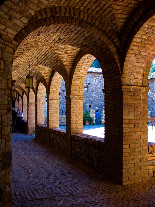 Castle Photograph - Warm And Cool by Sarah Le Feber