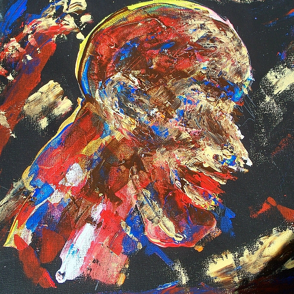 Slavery Of The Mind To Have Total Control Painting - We Must Have Total Control by Tyrone Hart