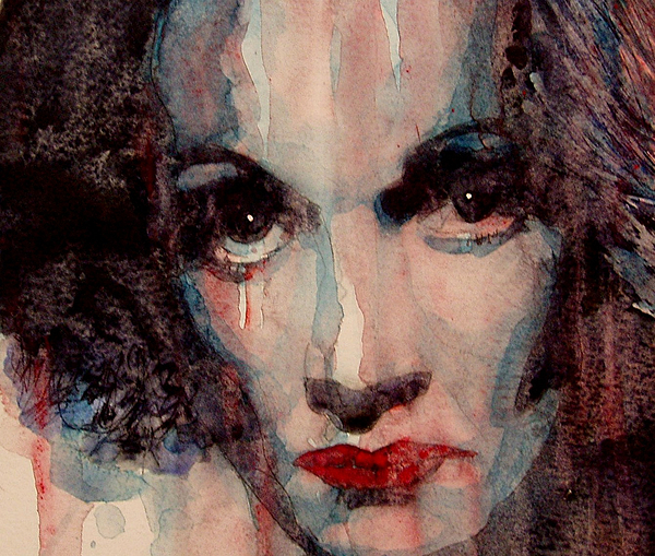 Marlene Dietrich  Painting - Where Do You Go My Lovely by Paul Lovering