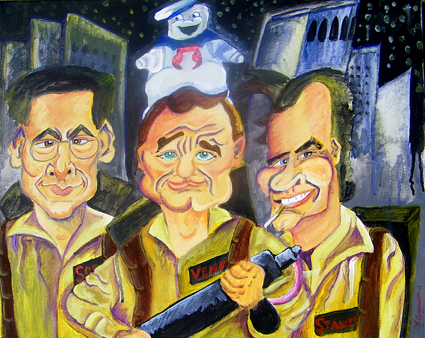 Ghostbusters Painting - Who You Gonna Call by Jacob Logan