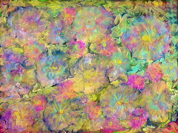 Wildflower Painting Painting - Wildflowers by Don  Wright