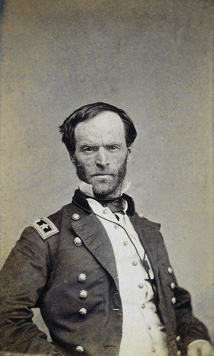 19th Century Photograph - William Tecumseh Sherman by Granger