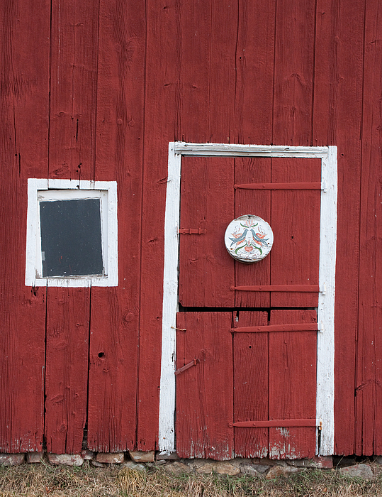 Hopewell Photograph - Window And Door by Robert Sander
