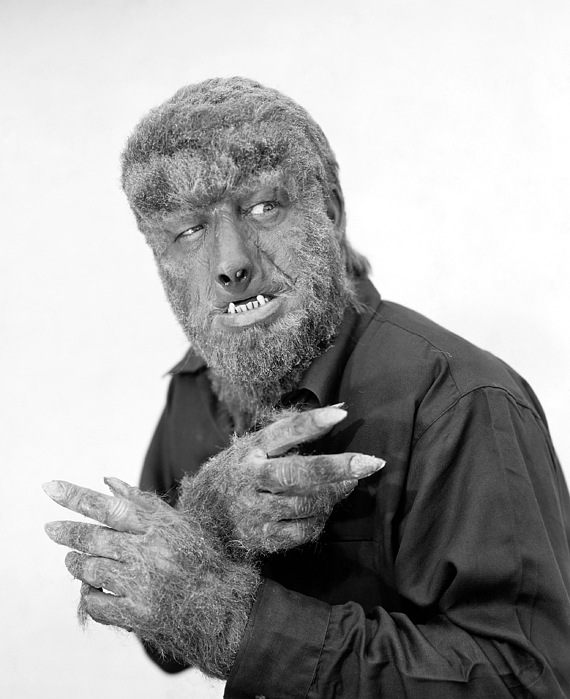 1945 Photograph - Wolfman, 1945 by Granger