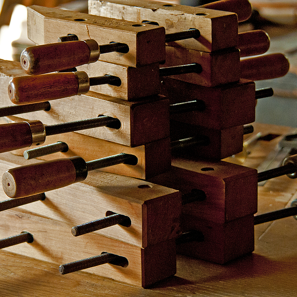 Wooden Clamps Photograph