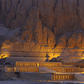 Hatshepsuts Mortuary Temple Rises by Kenneth Garrett