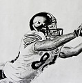 Hines Ward Diving Catch  by Bryant Luchs