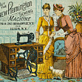 Sewing Machine Ad, C1880 by Granger