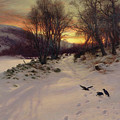 When The West With Evening Glows by Joseph Farquharson