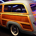1951 Ford Country Squire - 7d17485 by Wingsdomain Art and Photography