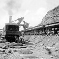 Panama Canal - Construction - C 1910 by International  Images