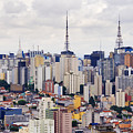Buildings Of Downtown Sao Paulo by Jeremy Woodhouse