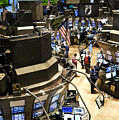 A High Angle View Of The New York Stock by Justin Guariglia