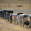 A Parade Of Mailboxes On The Outskirts by Stephen St. John