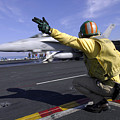 A Shooter Signals The Launch Of An by Stocktrek Images