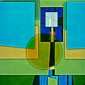 Abstract Shapes Color Two by Gary Grayson