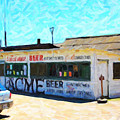 Acme Beer At The Old Lunch Shack At China Camp by Wingsdomain Art and Photography