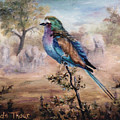 African Roller by Brenda Thour