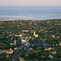 An Aerial View Of Chatham by Michael Melford