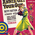 Annie Get Your Gun, Betty Hutton, 1950 by Everett