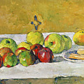 Apples And Biscuits by Paul Cezanne