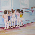 At The Barre by Julie Todd-Cundiff