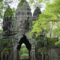 Bayon Gate by Marion Galt