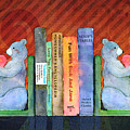 Bear Bookends by Arline Wagner