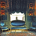 Blue Drawing Room by DigiArt Diaries by Vicky B Fuller