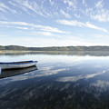Boat On Knysna Lagoon by Neil Overy