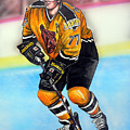 Boston Bruins Ray Bourque by Dave Olsen