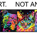 Buy Art Not Animals by Dean Russo
