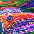 Car And Colorful by Evelyn Sprouse Rowe