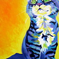 Cat - Here Kitty Kitty by Alicia VanNoy Call