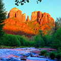 Cathedral Rock by Frank Houck