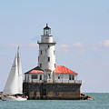 Chicago Harbor Lighthouse by Christine Till