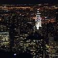 Chrysler Building At New York City by Philippe Brunel