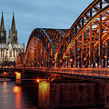 Cologne Cathedral At Dusk by Vulture Labs