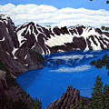 Crater Lake by Frederic Kohli