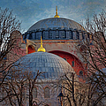 Dawn Over Hagia Sophia by Joan Carroll