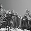 Devil's Postpile - Frozen Columns Of Lava by Christine Till