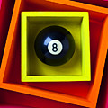 Eight Ball In Box by Garry Gay