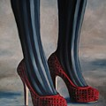 Evil Shoes by Jindra Noewi