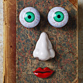 Facebook Old Book With Face by Garry Gay