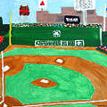 Fenway Park by Jeff Caturano