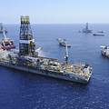 Flaring Operations Conducted by Stocktrek Images