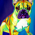 Frenchie - Tugboat by Alicia VanNoy Call