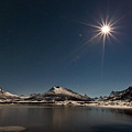 Full Moon In The Arctic by Frank Olsen