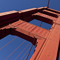 Golden Gate Bridge At An Angle by Garry Gay
